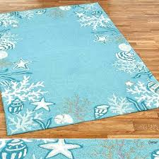 Aqua Color Rug Blue Area Rugs Briny Ocean Themed Target Accent Neutral Green Round Sizes Teal With Laser