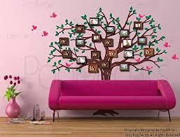 Jugendlich Mädchenraum Der Baumwandmalerei Baum Wandtattoo Amazon wunderschöne Baum Familie Foto Custom Wandsticker Für Kinder Mädchen Jungen Teenager Kinderzimmer Wunderschöne