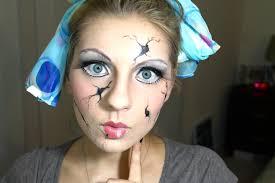 makeup ideas broken doll makeup ed doll makeup you porcelain