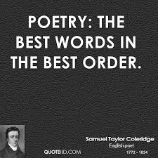 Samuel Taylor Coleridge Poetry Quotes | QuoteHD