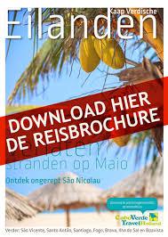 Reisbrochure Stranden Op Maio