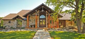hill country house plans. Texas Hill Country House Plans With Limestone Materials For Ranch Style
