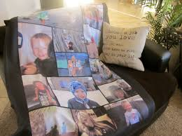 Personalized Throw Blanket With Pictures