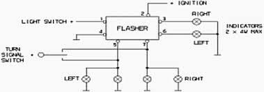 hella warning systems 933825007 hella flasher 12v 7 pin sealed product diagram