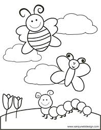 Springtime Colouring Pages Wonderful Coloring For Seasonal Christian