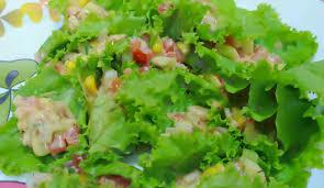 fresh garden salad. Unique Fresh Fresh Garden Salad Recipe To R