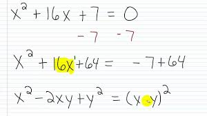 how solve quadratic equations completing the square vision entertaining algebra help solving