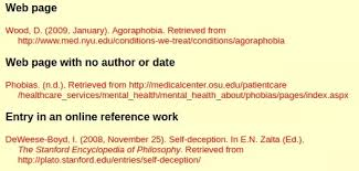What Is The Bibliography Format For Websites Quora
