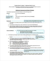 Sample Deed Of Trust Form Beauteous 48 Deed Release Form Samples Free Sample Example Format Download