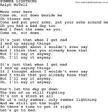 lighting cords. Ralph McTell Song: Summer Lightning, Lyrics Lighting Cords G