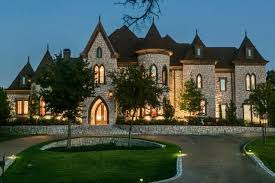 Custom Castle Style Homes