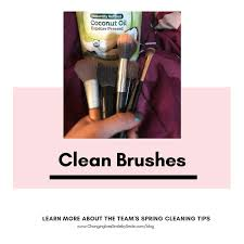 aja hygiene istant every other month i love to condition my makeup brushes with coconut oil to keep the bristles clean and soft