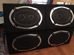 speakers in box. car stereo/amplifier/car/audio/speakers/car battery/6x9 speaker speakers in box a