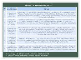 international business ppt  paper 3 1 international business