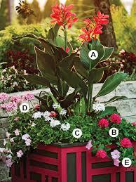 ColdClimate Shade Garden PlanBhg Container Garden Plans