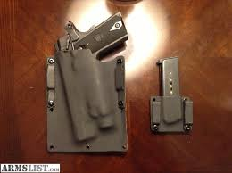 1911 Kydex Magazine Holders ARMSLIST For Sale Kydex Holster for Railed 10000 with TLR100 30