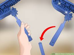 image titled clean a ceiling fan step 9