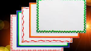 Chart Border Decoration Ideas Chart Paper Border Design Ideas Easy Bedowntowndaytona Com