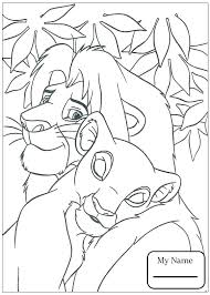 Simba And Scar Coloring Pages Simba And Scar Coloring Pages