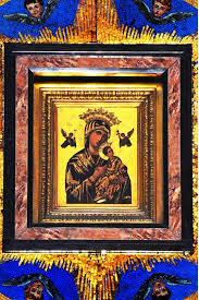 the icon of our mother of perpetual help in baclaran parañaque