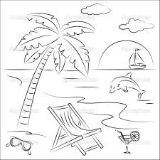 Small Picture Download Coloring Pages Beach Coloring Pages Summer Coloring