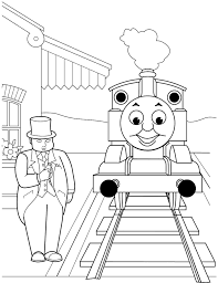 Small Picture Thomas The Train Coloring Pages Pdf Coloring Coloring Pages