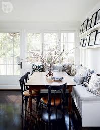 ideas bench kitchen table