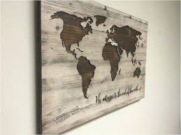 new world map decor old decorating ideas simple life metal wall art design world map