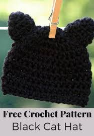 Cat Hat Crochet Pattern Enchanting Kitty Cat Hat Crochet Pattern