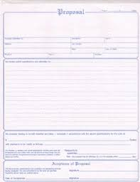 Printable Blank Bid Proposal Forms | Formdocs Electronic Forms ...