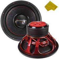 Buy American Bass 15 Competition Car Subwoofer, 3000 Watt Maximum Power,  Bass Surround Speaker, Car Audio Stereo Subwoofer - 15 inch, Dual 4 Ohm  Voice Coil Online in Italy. B08P3X2GZW