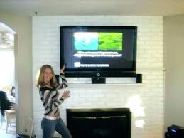 mounted over fireplace ideas mount info throughout can you a idea decorating tv