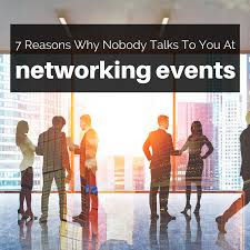 networking advice careerealism 7 reasons why nobody wants to talk to you at networking events