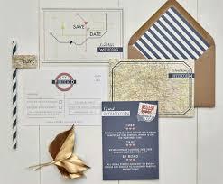 london underground wedding invitations
