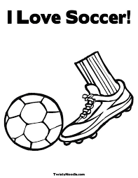 I Love Soccer Coloring Pages Printable Coloring Pages Coloring Home