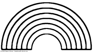 Small Picture 14 rainbow coloring page Print Color Craft