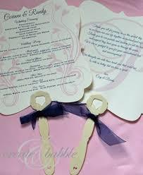 diy wedding programs fans createandbabble com