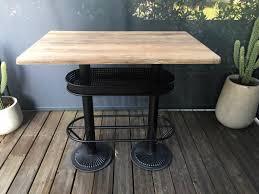 Industrial High Table Oldwood