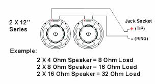 wiring speakers in series diagram Speaker Wiring Diagram Series Vs Parallel impedance speaker cabinet wiring 300guitars com speaker wiring diagram series vs parallel