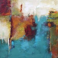 modern abstract painting iridium acrylic on 12 x 12 canvas by elizabeth chapman