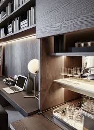 office mini bar. Love This Idea! But No Idea If We Would Fit Something Like In. Good Reference For The Study Though. They Have Table Lamp Version Of Our Bedroom Office Mini Bar D