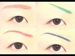 how to 5 ways to change eyebrow shape color you