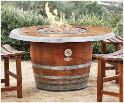 marriage and whiskey barrel table and chairs have more in common oak barrel furniture