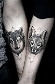 Tetování Vlka žena Konotace A 40 Nápadů Na Umístění