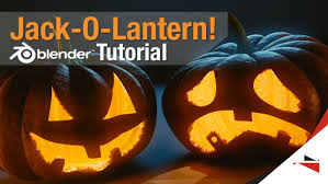 Jack O Lantern How To Make A Jack O Lantern Blender Tutorial Youtube