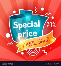 Special Price Sale Banner Advertising Flyer For