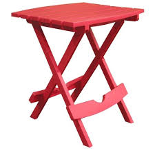 folding side table for outdoor patio