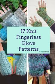 Free Fingerless Gloves Knitting Pattern