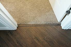 Carpet Laminate Flooring On Floor Inside To Wood Transition Strip Installing