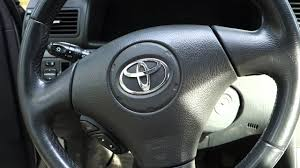 2006 Toyota Corolla Airbag Light Stays On How To Repair Airbag Error In Toyota Corolla Years 2000 To 2015